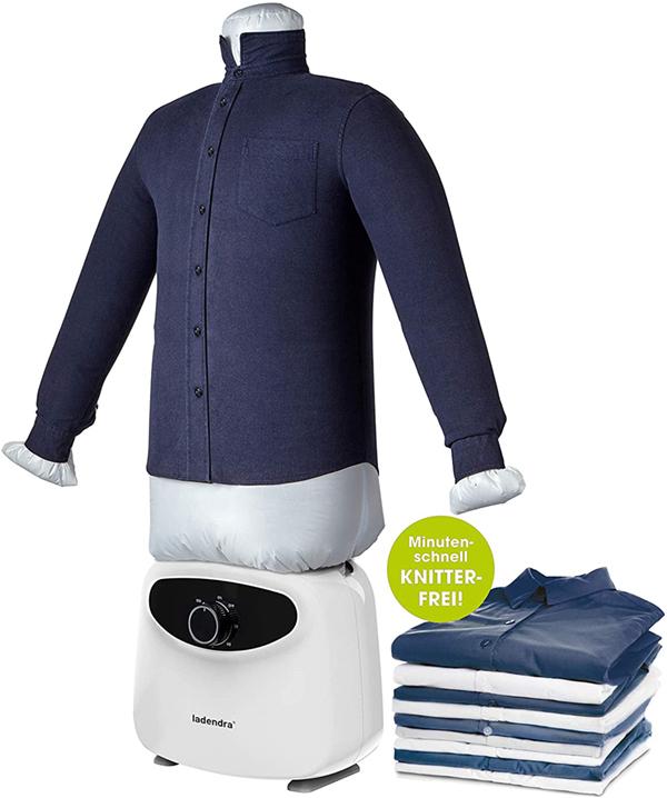 test - LADENDRA Repasser pour chemises avec mannequin 2 en 1